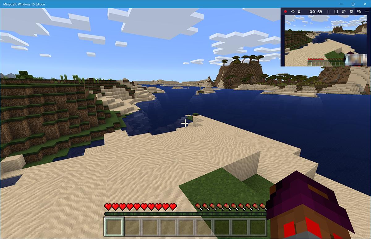 こちらは配信側の画面。PCゲームの端に配信中の画面やWebカメラによる自身の映像が配信される