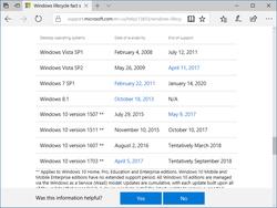 「Windows 10 November Update」「Office 2007」「Office for Mac 2011」のサポートが終了 「Windows 10 November Update(バージョン 1511)」などのサポートが終了