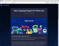 """ゲームプレイ実況サービス""""Mixer""""のWeb UIが日本語を含む21の言語に対応 """"Mixer""""の公式ブログ"""