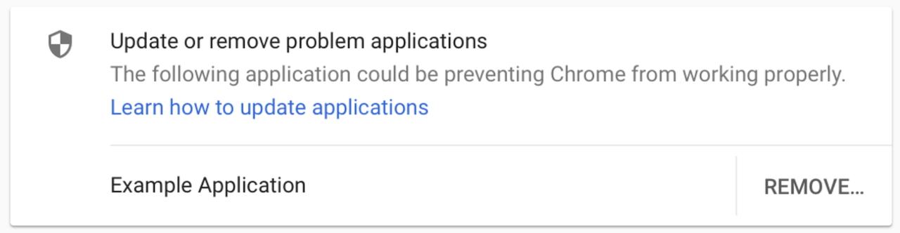 外部アプリのコードインジェクションが原因のクラッシュが発生するとそれをユーザーに警告し、そのアプリを更新または削除するように促すように(同社ブログより引用)