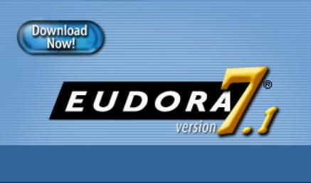 「Eudora 7.1」のスプラッシュ画面(CHMのWebサイトより引用)