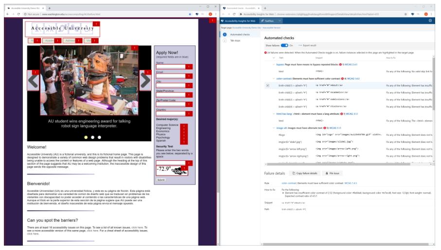 Webアプリをチェックする「Google Chrome」向けの拡張機能