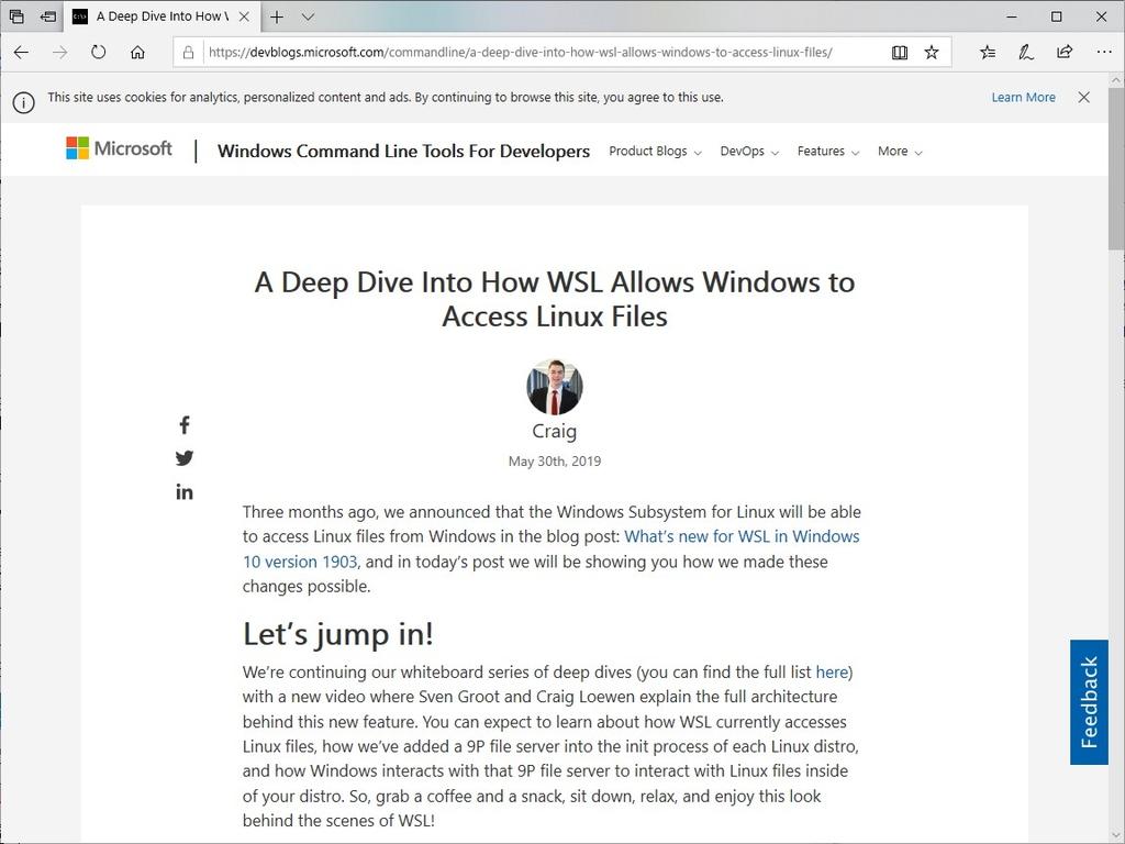 """公式ブログ""""Windows Command Line Tools For Developers"""""""