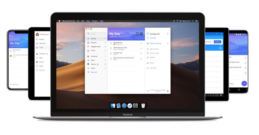 「Microsoft To-Do」のMac版がリリース