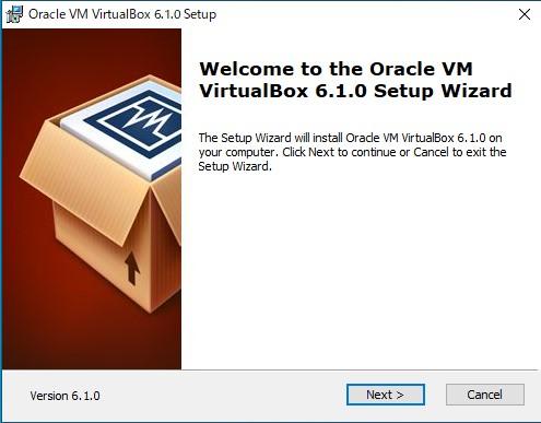 「Oracle VM VirtualBox」v6.1.0