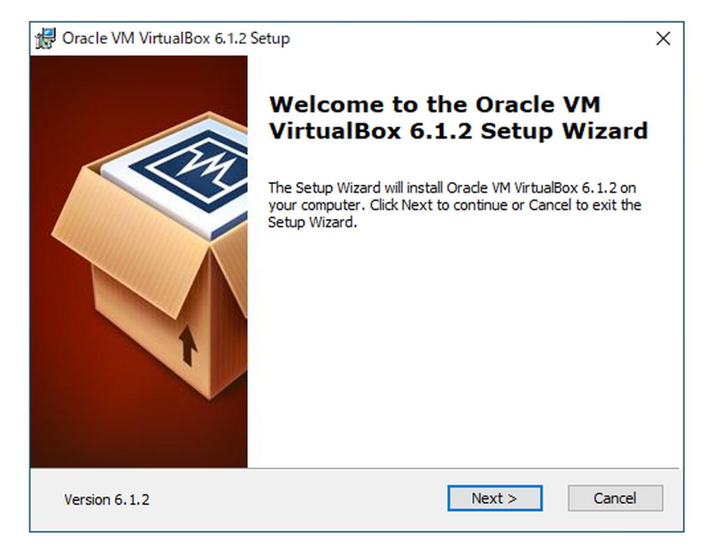 「Oracle VM VirtualBox」v6.1.2