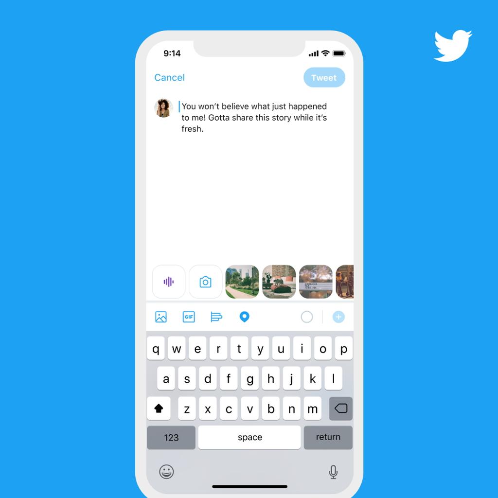 Twitter、音声ツイートを投稿できるように