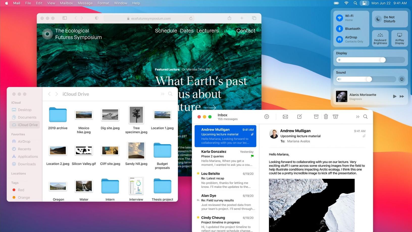 デザインが刷新された「macOS Big Sur」