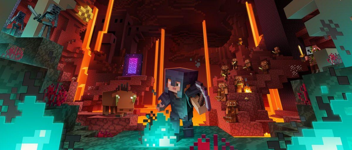 "「Minecraft」の大規模更新""ネザー アップデート""を発表"