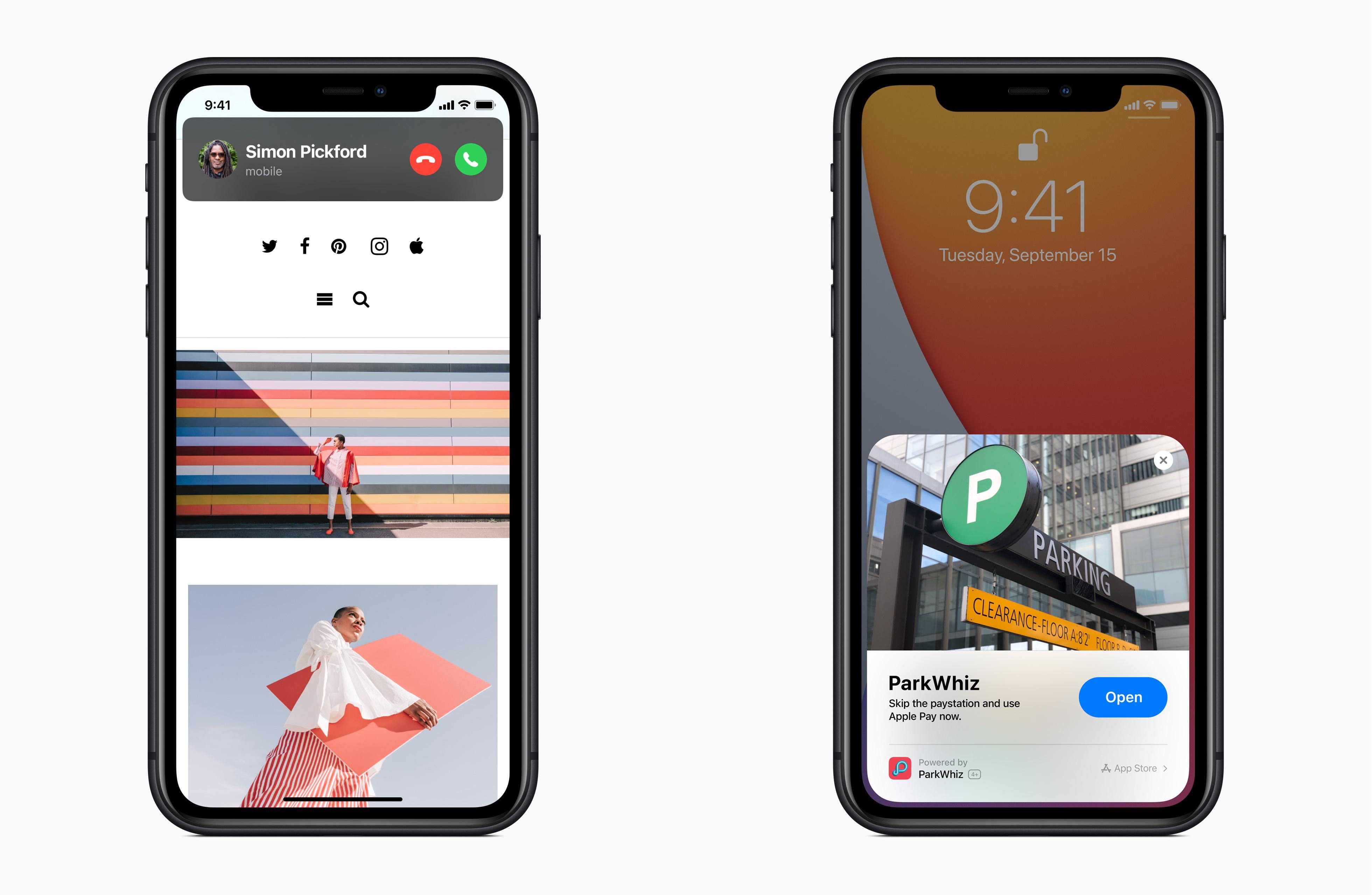 """音楽コントロールや「Siri」はコンパクトに。アプリケーションの一部機能だけをインスタントに呼び出せる""""App Clips""""にも注目"""
