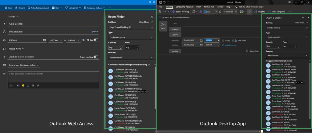 デスクトップ版「Outlook」にWebコンテンツを組み込んだ例。アプリと「WebView2」の間で通信することも可能