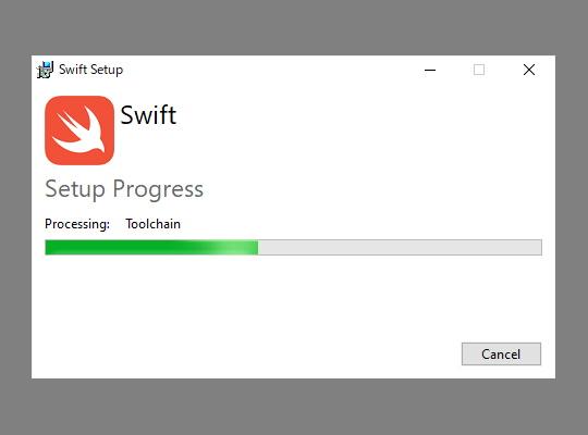 Windows向けの「Swift」ツールチェーンがダウンロード可能に