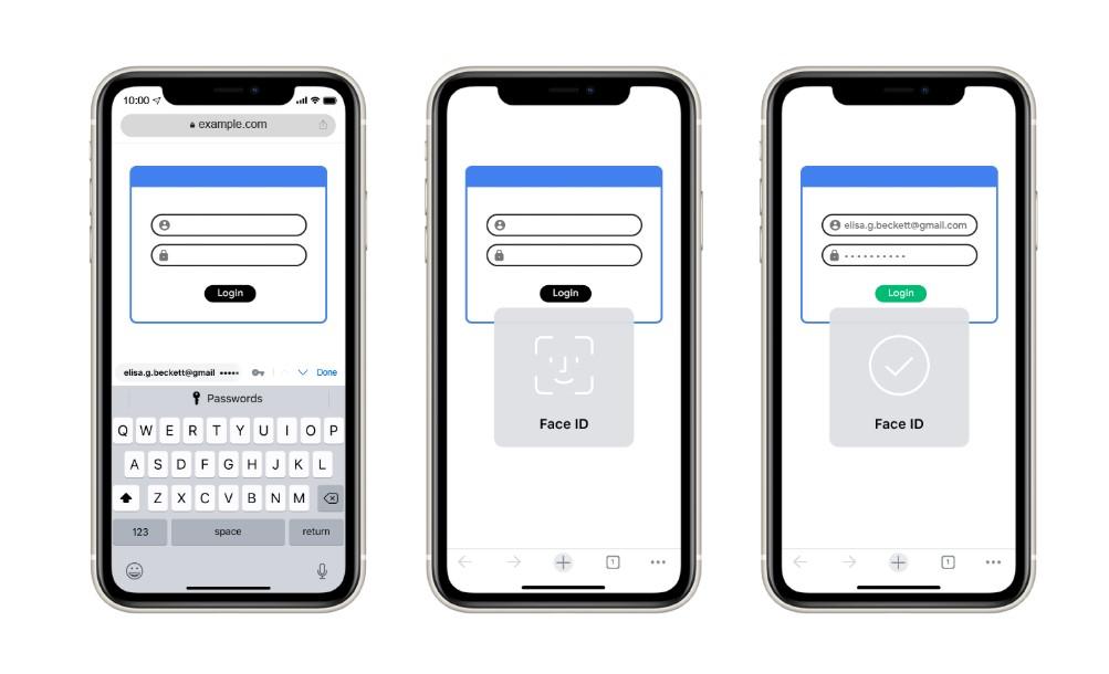 iOS版では「Chrome」に保存されたログイン情報を他のアプリやWebブラウザーの自動入力にも利用できるように