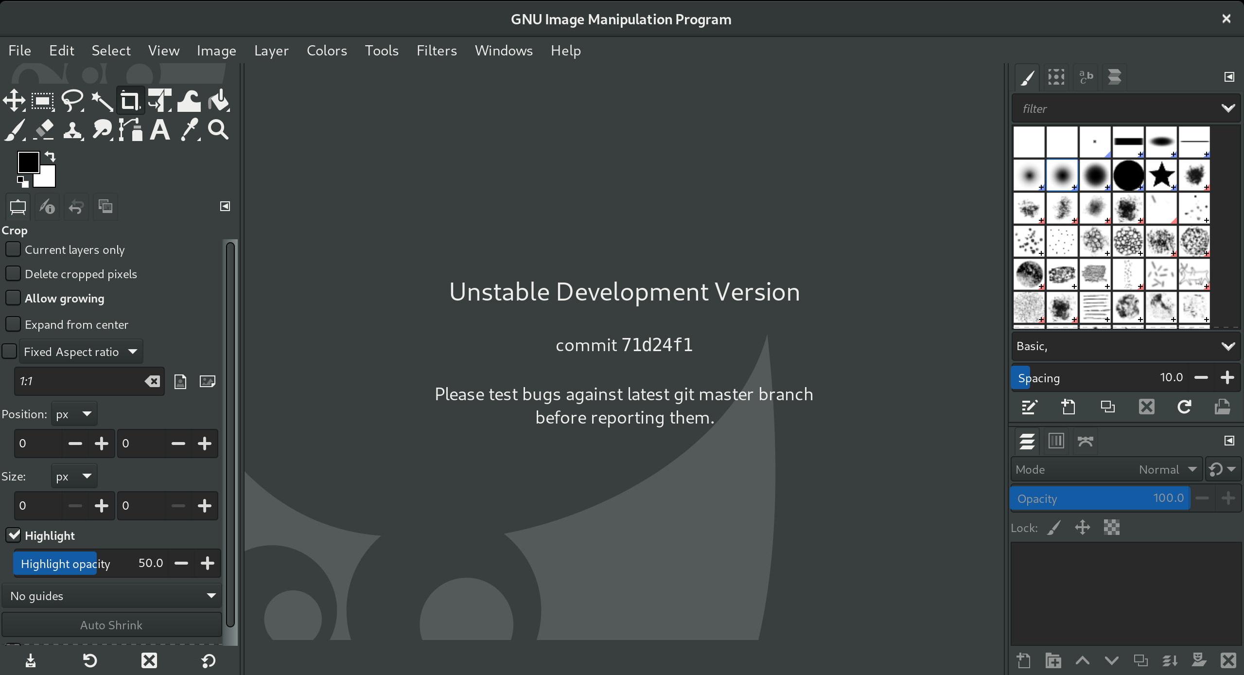 「GTK 3」をベースとした「GIMP 2.99.2」