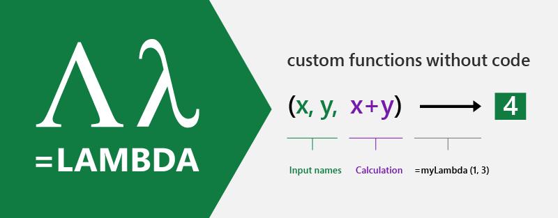 「Excel」の新しい関数「LAMBDA」