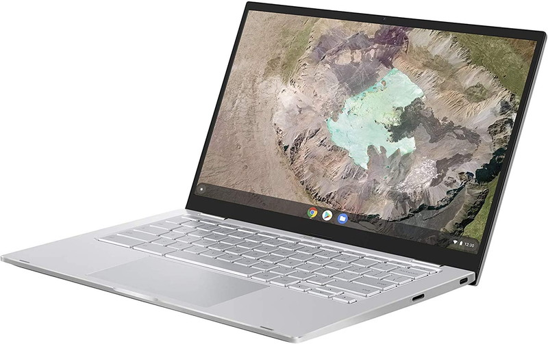 Google Chromebook ASUS ノートパソコン C425TA(インテル Core m3-8100Y/4GB, 64GB/Type-C 給電/Webカメラ/FHD(1,920×1,080ドット)/タッチパネル/14インチ)【日本正規代理店品】【あんしん保証】C425TA-AJ0122
