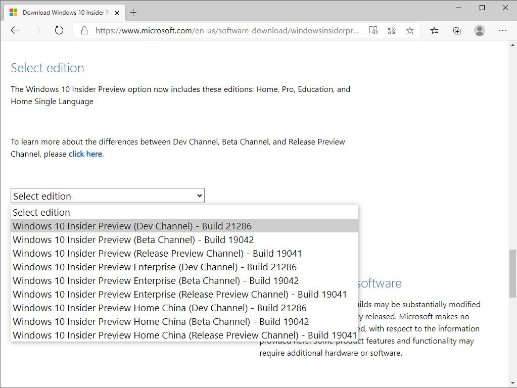 「Windows 10」Build 21286のISOイメージファイルが公開