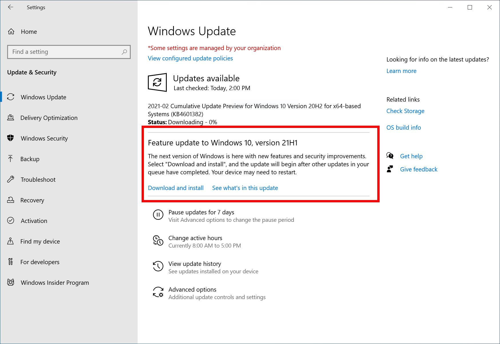 「Windows 10」の次期機能アップデート「バージョン 21H1」を発表