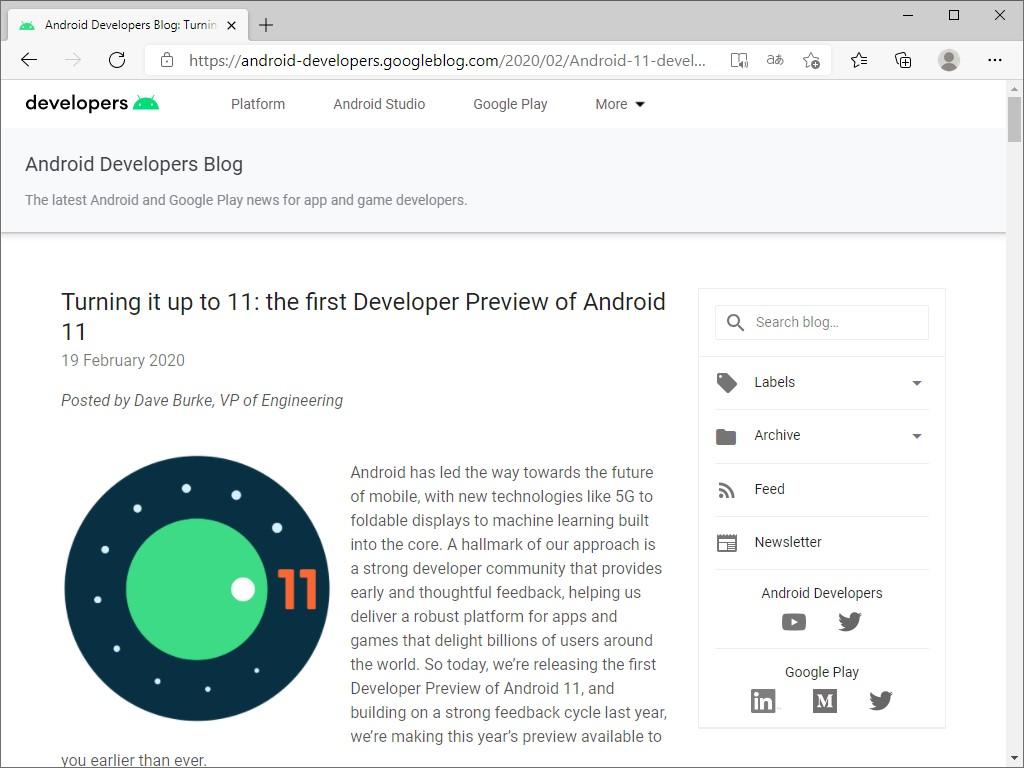 Google、「Android 12」の開発者プレビューをリリース