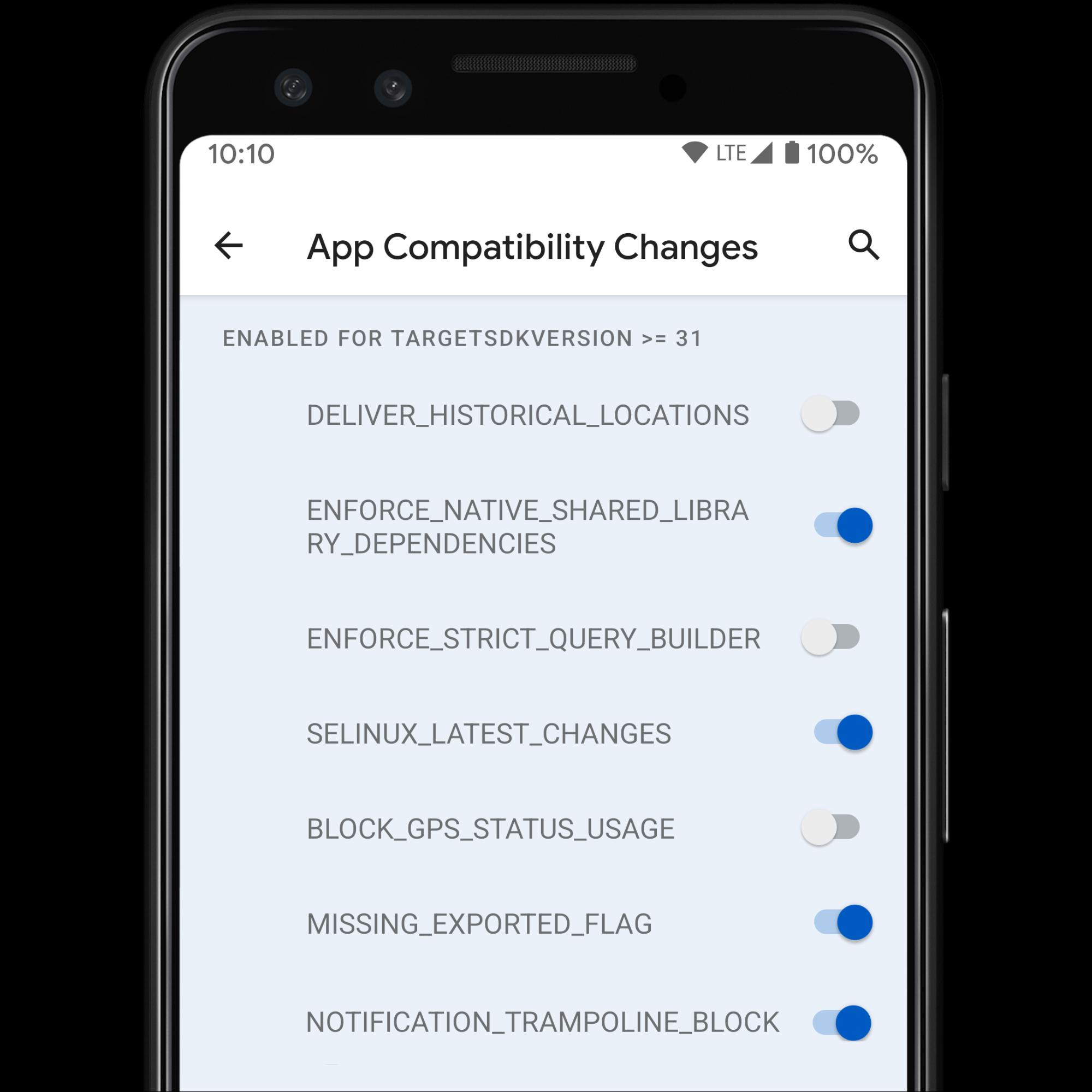 アプリに影響を与える可能性のあるオプトイン変更を簡単にテストできるように