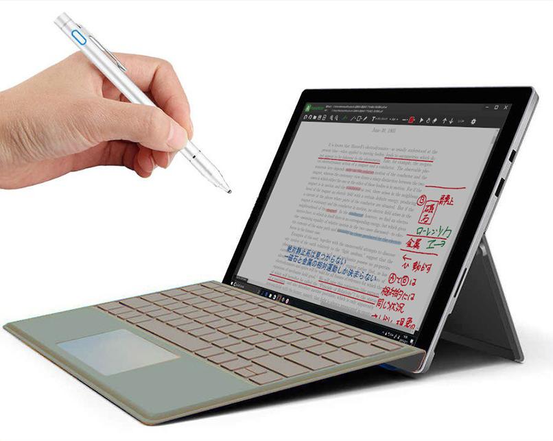 どんなPDFファイルにも「追記」できる「AxelaNote」。タッチ操作やペン操作に完全対応する