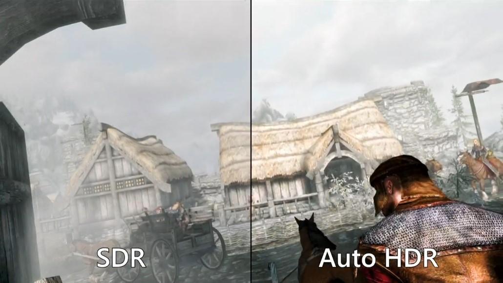 ゲームの画質をSDRからHDRへ自動アップグレードする「Auto HDR」