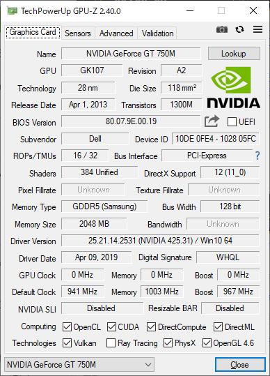 GPUはDirectX 12に対応