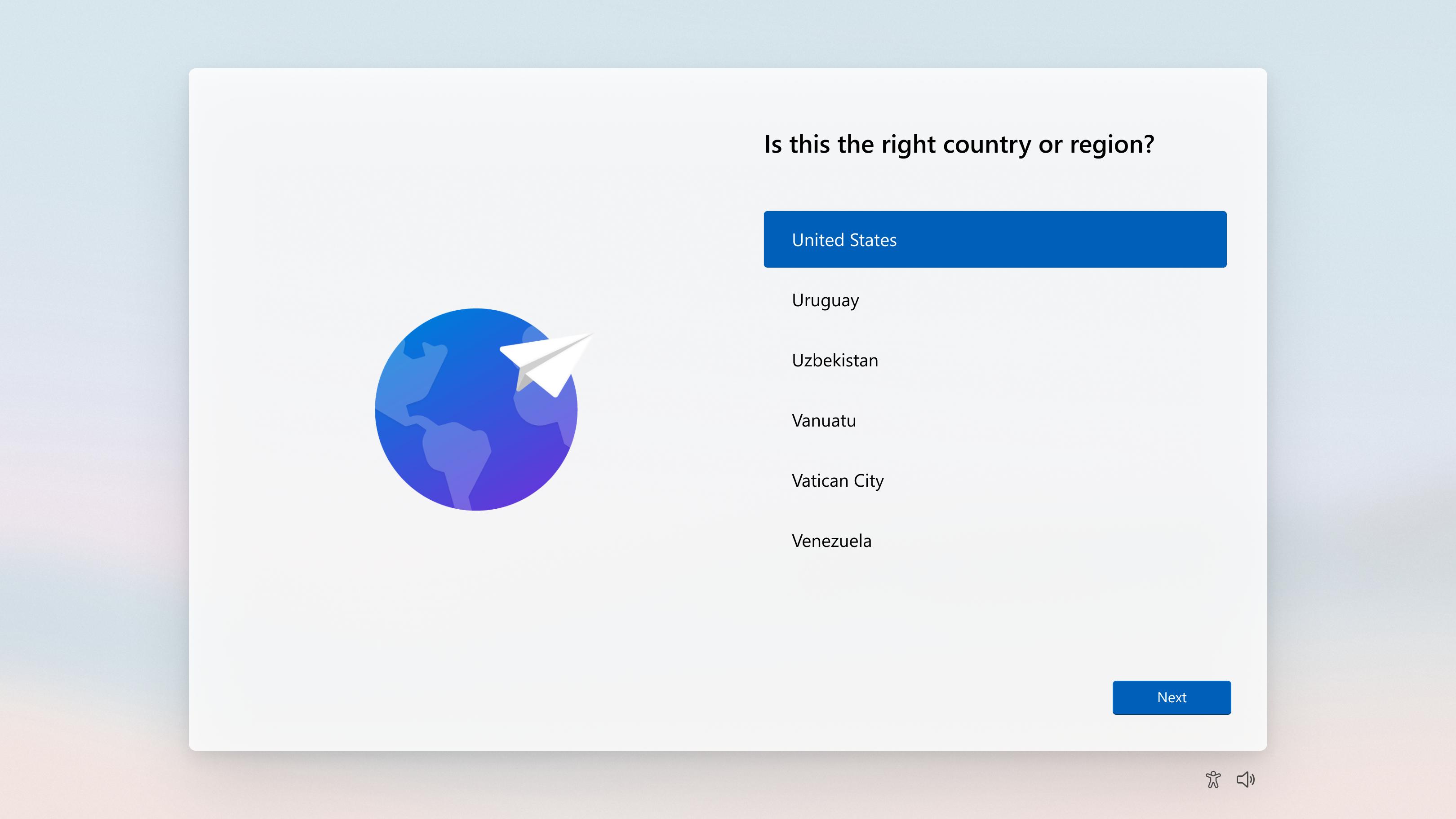 OSのセットアップエクスペリエンス(OOBE)も新しく