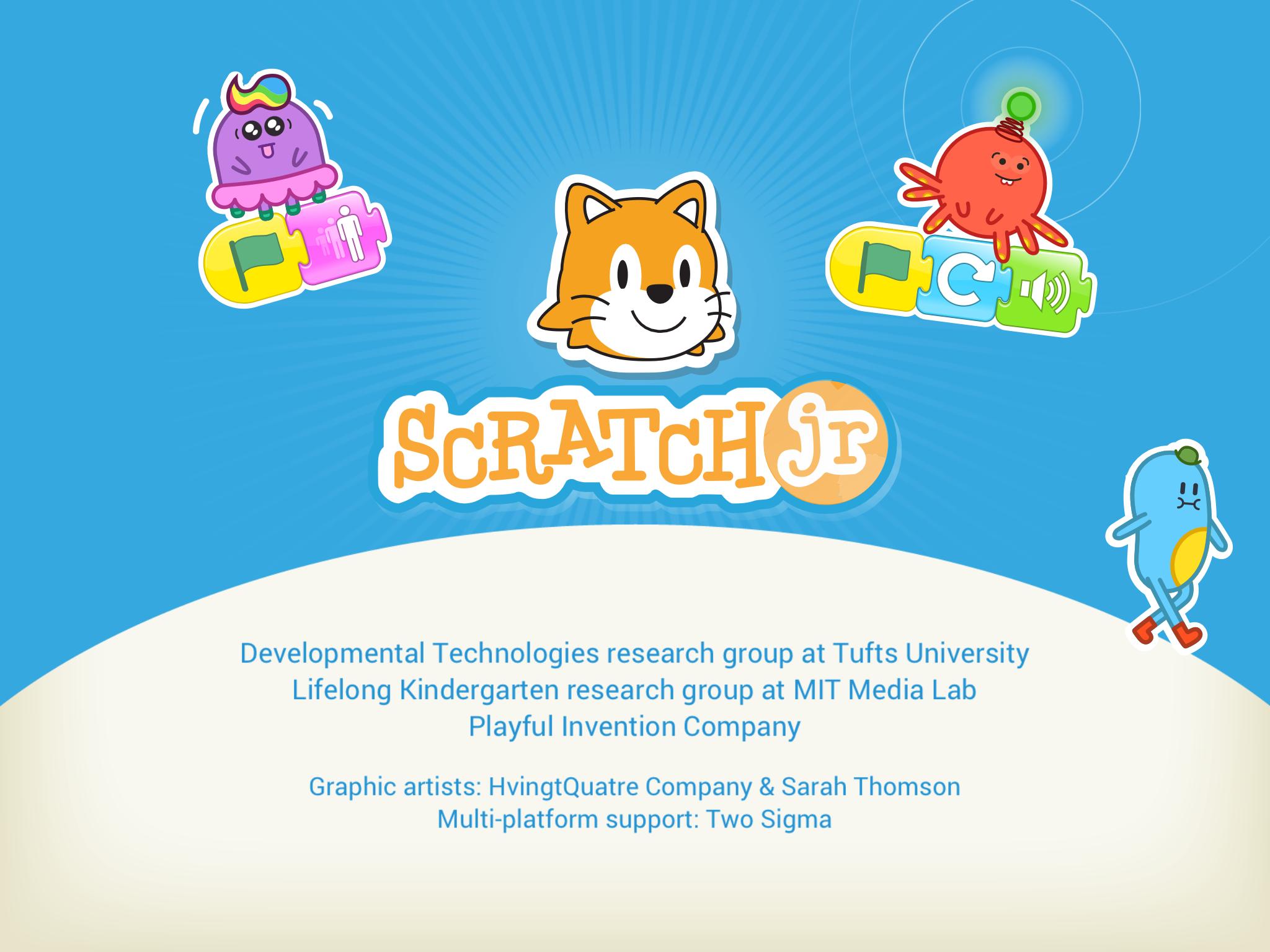 「ScratchJr」