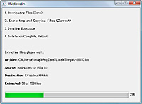 "OSの種類とバージョンを指定すれば、あとは全自動でインストール""USBメモリ""が作成される"