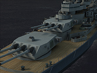 「Battleship Missouri 3D Screensaver」v1.0