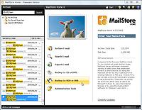 「MailStore Home」v4.0