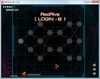 ステージは樹形図状に分岐しており、プレイ内容によってルートが変化する