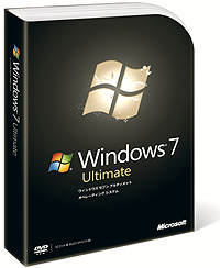 「Windows 7 Ultimate」