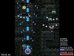 レベル4のショットは敵を簡単に一掃できるほど強力だ