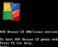 「AVG Rescue CD」