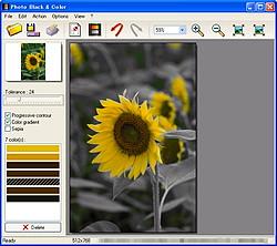 「Photo Black & Color」v1.0