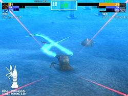 スキルを発動すると巨大な触覚を出すなど甲殻類とは思えないド派手な攻撃を展開