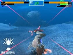 分離や敵の攻撃で壊れた部位は脱皮で再生可能。甲殻類らしい技だ