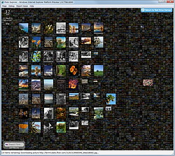 """動画共有サイト""""Flickr""""の画像を閲覧できるデモ""""Flickr Explorer"""""""