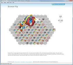 """FPSを計測するデモ""""Browser Flip"""""""