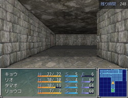 人工生命兵器があふれる地下工場からの脱出を目指す3DダンジョンRPG