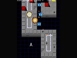 80年代風のテイストをもつ縦スクロールシューティングゲーム