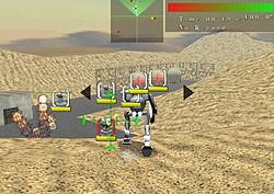 敵機や障害物をショットとソードで破壊していく3Dアクションゲーム