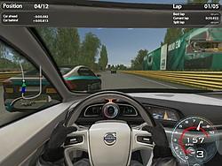 ボルボの名車でドライブできるのが魅力のリアル系レースゲーム