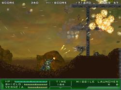 """通常武器の1つ""""ライオットガン""""は攻撃範囲が広く遠くの敵も倒しやすい"""