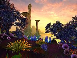 「Faraway Planet 3D Screensaver」v1.0