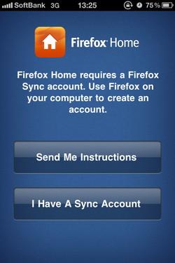 「Firefox Home」