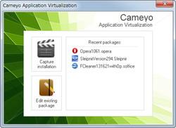 「Cameyo」v1.4