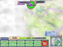 移動したことのない場所は霧に隠れている。マップ探索も重要な作業だ